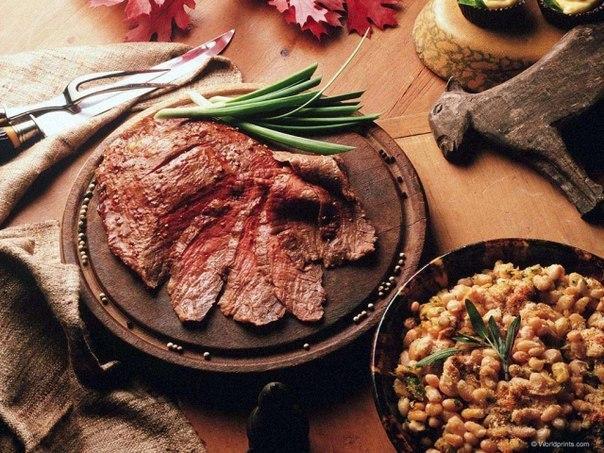 30 блюд из дичи, включая паштет, холодец и прочее
